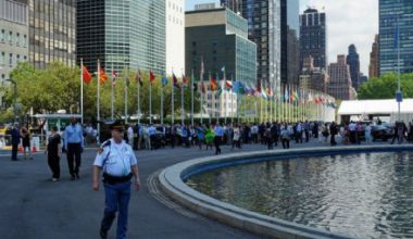 BM Genel Merkezi'nde Yangın Çıktı